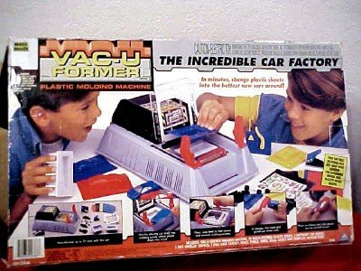 Magic Maker Vac-U Former The Incredible Car Factory