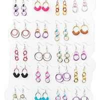 Linkt Craft Kit Hoops & Loops (20 Pairs of Earrings)