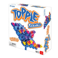 Pressman Topple Chrome Action Game