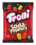 Trolli Soda Poppers Gummy Candy, 5 Ounce Bag, (Pack Of 12)