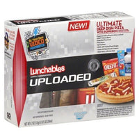 OSCAR MAYER LUNCHABLES UPLOADED ULTIMATE DEEP DISH PIZZA PEPPERONI PACK OF 3