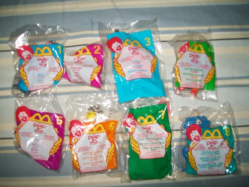 Mcdonalds Doug's 1st Movie (Set Of8) 1999