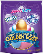 Wonka Egg Hunt with a Golden Egg, 12 Count, 3.4 Ounce