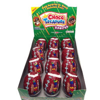 Choco Treasure Footballs, 12-count Tray