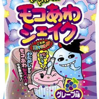 "Popin Cotton Candy ""Moco Awa Shake"" Grape Flavor Meiji Chewing Gum"