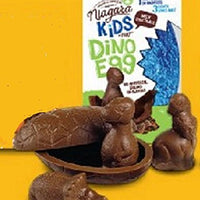 "Niagara Milk Chocolate Dinosaur ""Surprise"" Egg"