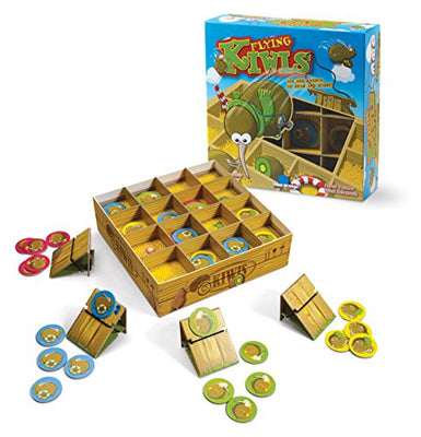 Blue Orange Games Flying Kiwis Launching Action Board Game for Families