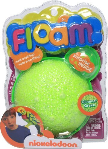 Nickelodeon NSI Floam Glimmer Green