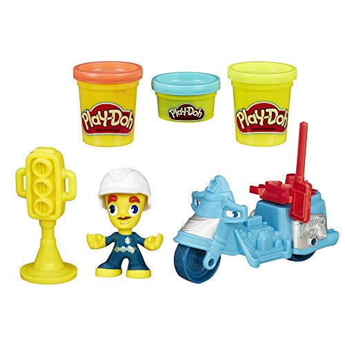 Play-Doh Town Police Motorcycle