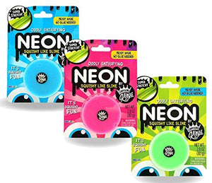 Compound Kings Neon Squishy Like Slime Blister Card 3 Pack in Assorted Colors