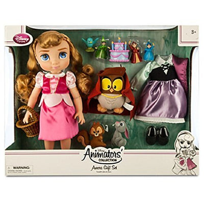 Disney - Aurora Doll Gift Set - Disney Animators' Collection - NEW