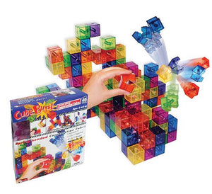 Magnif Cube Burst Building Blocks, 40 Pieces
