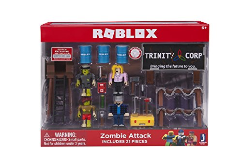 Roblox Zombie Attack Large Playset