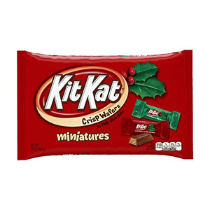 KIT KAT Holiday Miniatures, 10 Ounce (Pack of 4)