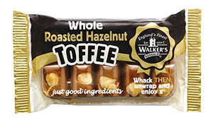 Walkers Roasted Hazelnut Toffee, 3.5-Ounce Packages (Pack of 10)