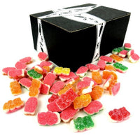 Vidal Sugared Gummi Sour Triple Bears, 12 oz Bag in a Gift Box