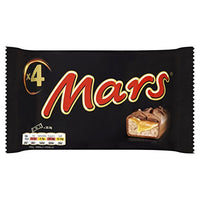 Mars Chocolate Bars Treat Size Small 4 Bars (33.8g bars)