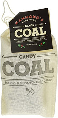 Bag of Coal Cinnamon Candy CO 00936