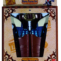 Smiffys Western Water Pistol Set In Holsters,Blue,One Size