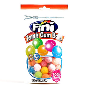 Fini Tennis Sour Lemon Lime Gumballs (1 Item Per Order)