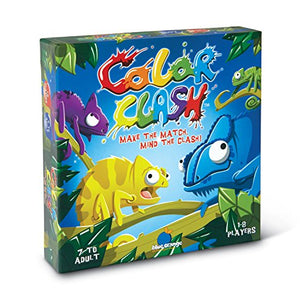 Blue Orange Color Clash Board Game