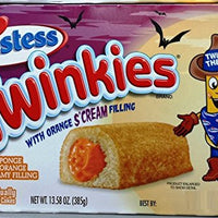HOSTESS TWINKIES WITH ORANGE S'CREAM FILLING - LIMITED EDITION