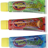 Hubba Bubba Squeeze Pop Sour Lollipops, 4 Ounce (Pack of 18)