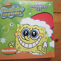 Spongebob Squarepants Mini Ornament Set