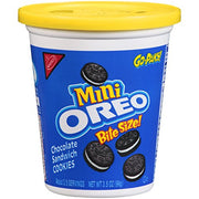 Oreo Mini Chocolate Sandwich Cookies (3.5-Ounce Go-Packs, 8-Pack)