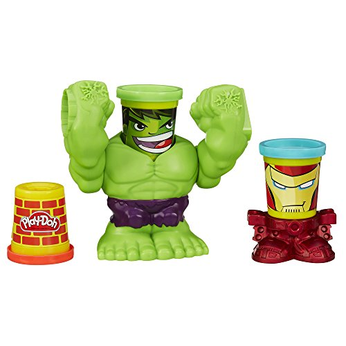 Play-Doh Smashdown Hulk Featuring Marvel Can-Heads