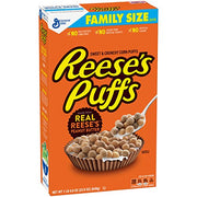 Reeses Puffs, Peanut Butter, 22.9 Ounce (Pack of 3)