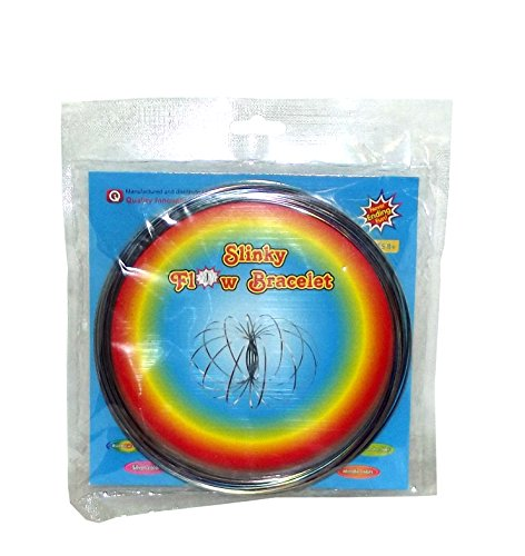 Quality Innovations Slinky Flow Bracelet, Rainbow