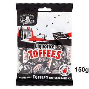 Walkers Nonsuch Liquorice Toffees (150g)