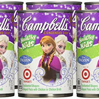 Campbell's Healthy Kids Soup Disney Frozen pack of 6
