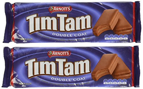 Tim Tam Cookies Arnotts | Tim Tams Chocolate Biscuits | Made in Australia | Choose Your Flavor (2 Pack) (Double Coat)