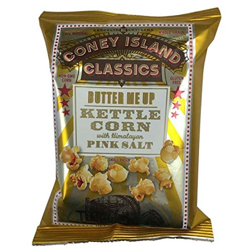Coney Island Butter Me Up Kettle Corn Popcorn 1.5 oz Bags -Pack of 36