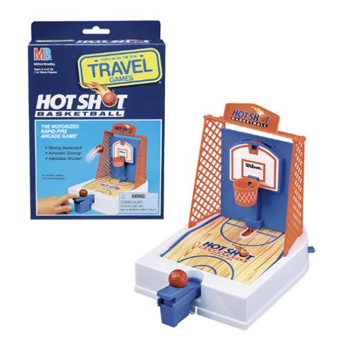 Travel Hot Shot Basketball Game by Milton Bradley