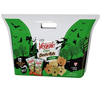 Sensible Portions Garden Veggie Ghosts + Bats Chips, Sea Salt, 0.5 oz. (Pack of 12)