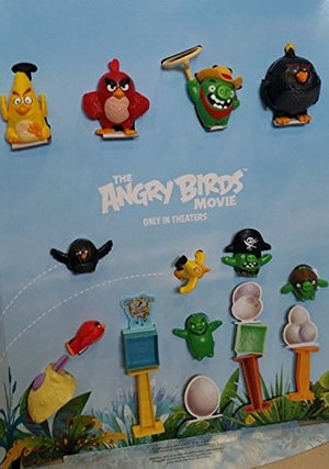 Mcdonalds 2016 The Angry Birds Movie Set of 10