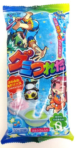 Gummy Tsureta - Long Long Gummy Cyandy Soda Flavor by Kracie