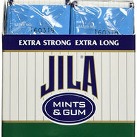 Jila, Sugar Free Peppermint Gum, 12 - .8 Ounce Packs
