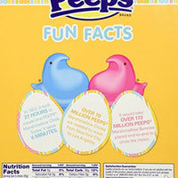 Peeps Marshmallow Chicks with Special Plush (Yellow) (10 Chicks )