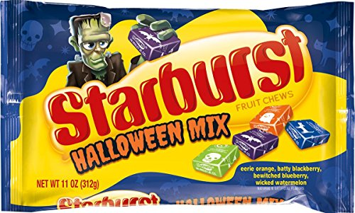 Starburst Fruit Chews Halloween Mix Bag, 11 Ounce, 11 Ounce (Pack of 12)