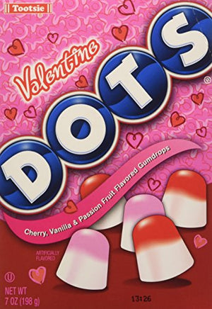 Valentine Dots Candy, 7OZ(198g)