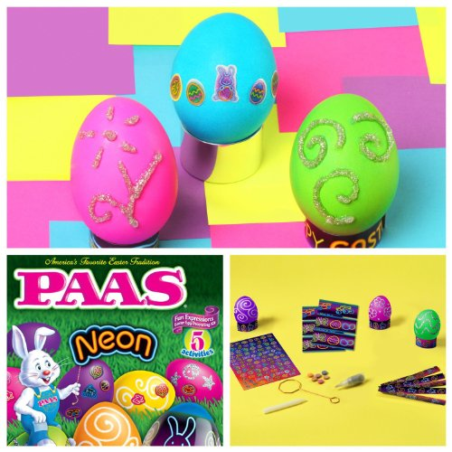 PAAS Neon Fun Expressions Easter Dye Decorating Kit