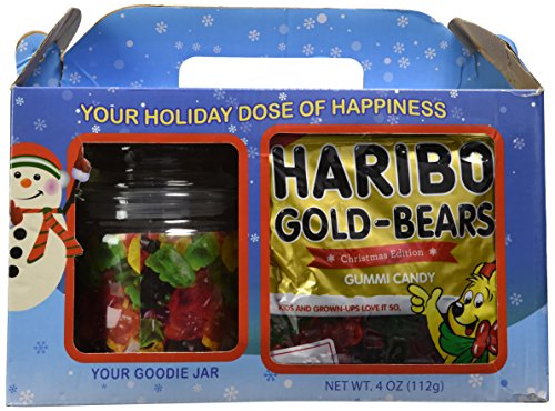Haribo Christmas Bears Gummi Candy Holiday Gift Set - 2 Piece