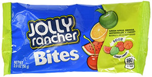 JOLLY RANCHER Chewy Candy Bites, Sour (Pack of 48)