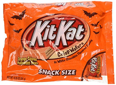 Kit Kat Orange Halloween Treats, Snack Size, 10.29-Ounce bag