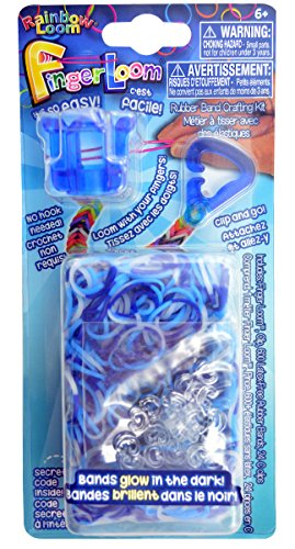 Rainbow Loom Official Finger Loom - Blue...