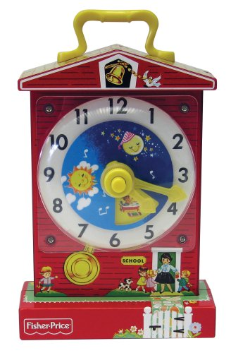Fisher Price Classic Teaching Clock